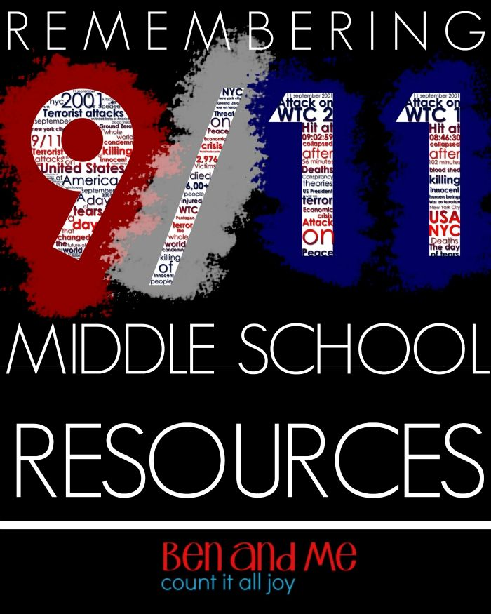 I'm putting together a quick unit study for next week, remembering 9/11.  Last year, I shared a larger list of resourceswith mostly picture books and unit study info for elementary students. This year we will only spend one day on this topic, and we'll be stepping up the study to include learning more about …
