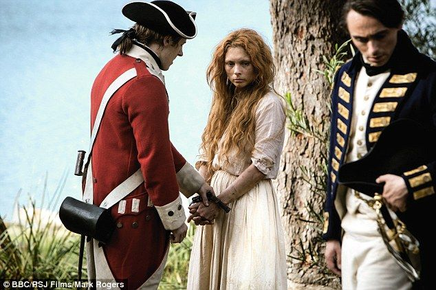 MyAnna Buring as Elizabeth Quinn who was part of a doomed love triangle with Tommy Barrett...and David Dawson as Captain David Collins