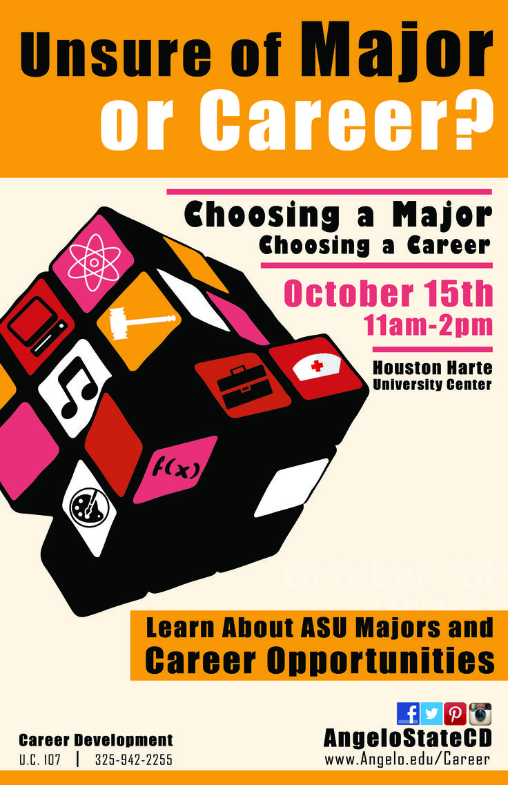 best images about career development flyer choosing a major choosing a career