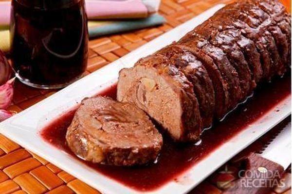 Receita de Carne ao molho de vinho diferente - Comida e Receitas