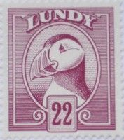 Lundy stamp
