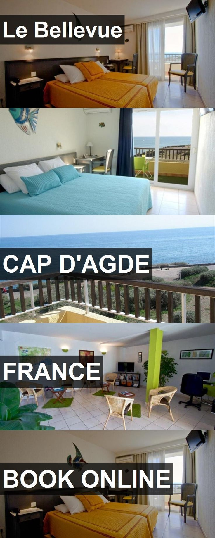 Hotel Le Bellevue in Cap d'Agde, France. For more information, photos, reviews and best prices please follow the link. #France #Capd'Agde #LeBellevue #hotel #travel #vacation