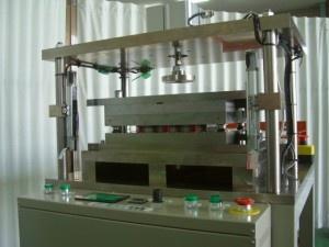 (株)サンクメタルH-11電池試作装置及びエキスパンドメタル