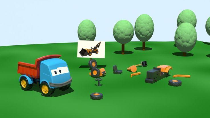 Leo e la pala meccanica - Cartoni animati per bambini