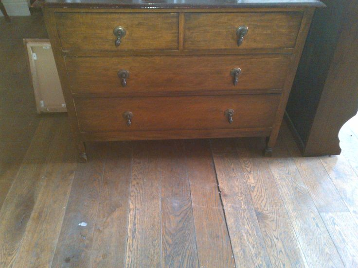 Solid Oak Two over Two Chest