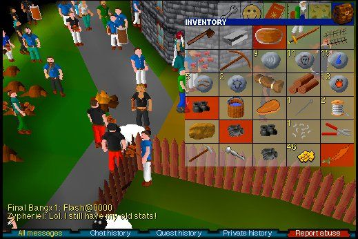 It's okay if you're a noob, we have all been there and you won't be the last! Join us at http://www.rsclegacy.com to play runescape classic and meet new friends this weekend!