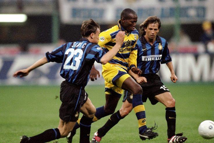 Faustino Asprilla lors de Parma FC- Inter Milan #Parma #Legend #Classic #FanEngagment #9ine @Parma