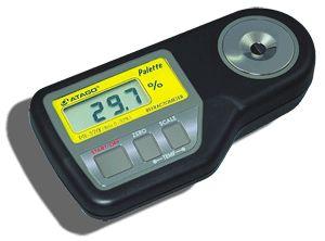 http://www.termometer.se/SugarMaster-DIG-PR-32-ALPHA-ATAGO-0-320-BRIX.html  SugarMaster™ DIG PR-32 ALPHA, ATAGO, 0-32,0% BRIX  PR-32 a ( alpha ) är designad för att mäta låga koncentrationer av sockerhalt mellan Brix 0.0 till 32.0%, med en noggrannhet på Brix ±0.1% i temperaturområdet 5 till 40°C. Den kan mäta Brix-värdet i fruktjuicer, livsmedel och drycker såväl som kemikalier inom industrin t.ex. oljor, rengöringsmedel och kylarvätskor...