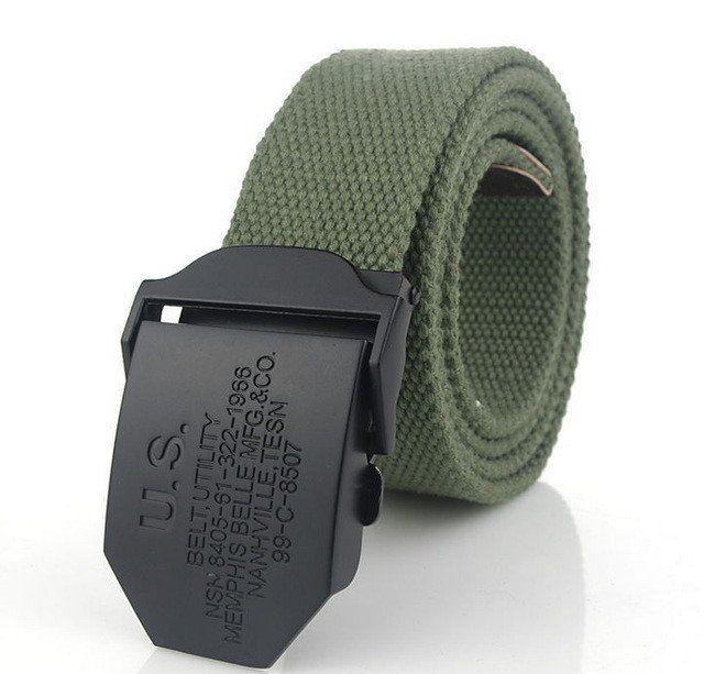 U.S. men's canvas belt  #shopping #shopping #unaistore #belt #belts
