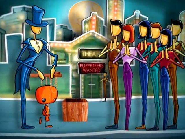 """http://estudiodarma.com.ar/trabajos.php?categoria=animacion&id=20  Small Wonders (España) - Trailer """"BOP""""  Trailer promocional para el videojuego """"Battle of Puppets"""" realizado para la firma Española """"Small Wonders"""". Estudio Darma basado en un guión técnico y material gráfico entregado por el cliente, desarrolla la Animación y Postproducción integral de la pieza audiovisual.  Motion graphics y postproducción."""