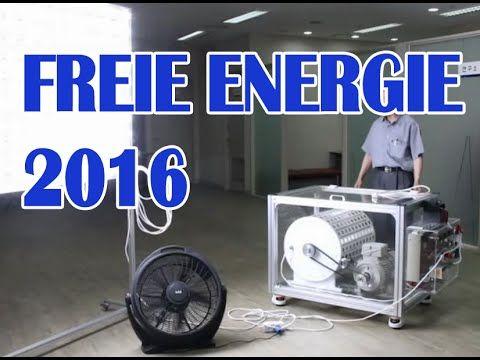 Freie Energie 2016 schon längst möglich aber nicht gewollt