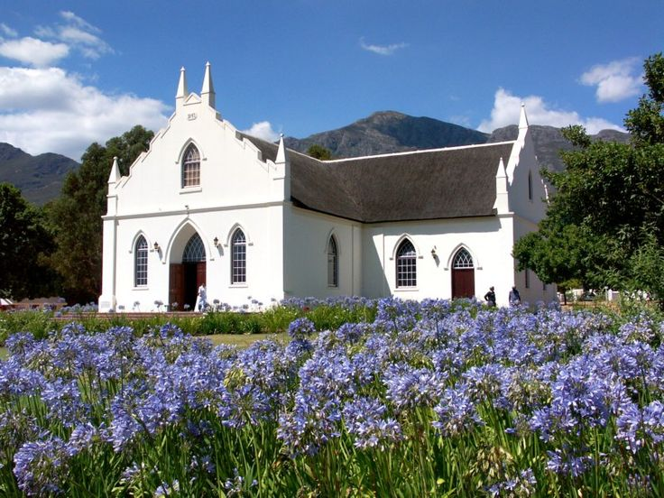 Franschhoek, South Africa home of La Clé des Montagnes 4 luxurious villas on a working wine farm