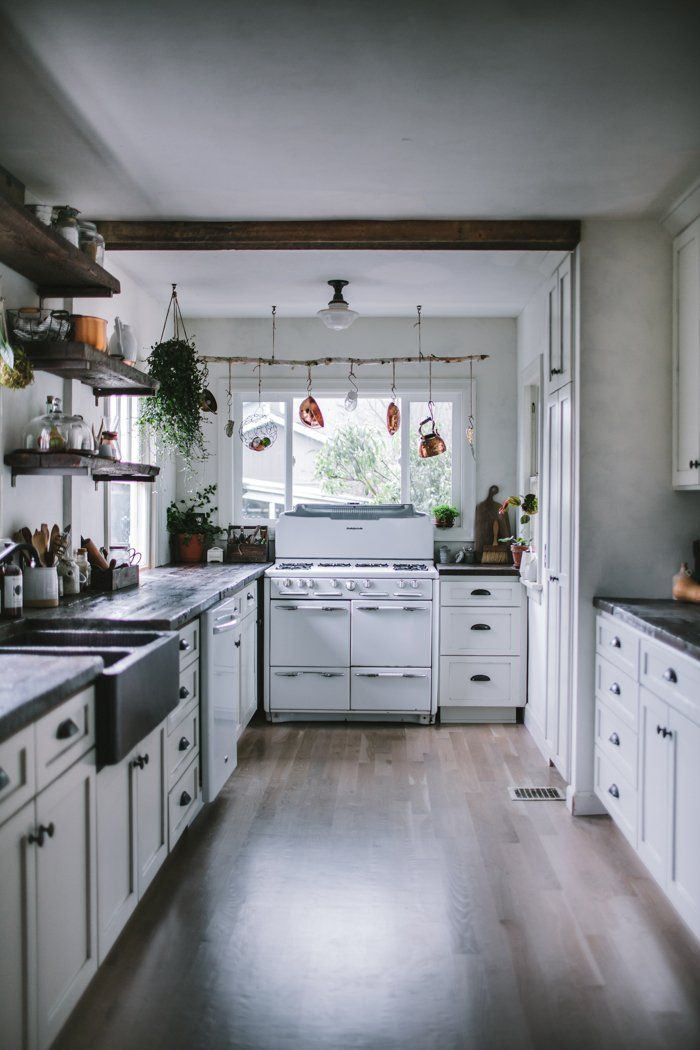 A Food Blogger's Rustic DIY Renovation in Portland, OR, Dark and Moody Edition