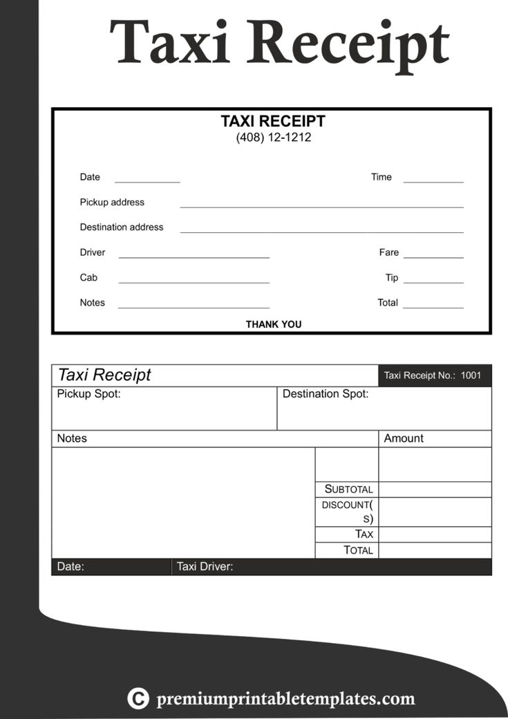 Fake Taxi Receipt Forza.mbiconsultingltd in Blank Taxi