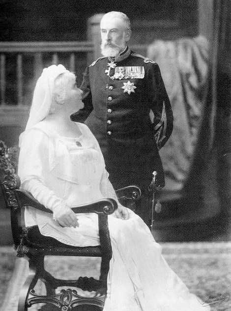 TM King Carol I and Queen Elisabeth of Romania. Married: November 15, 1869