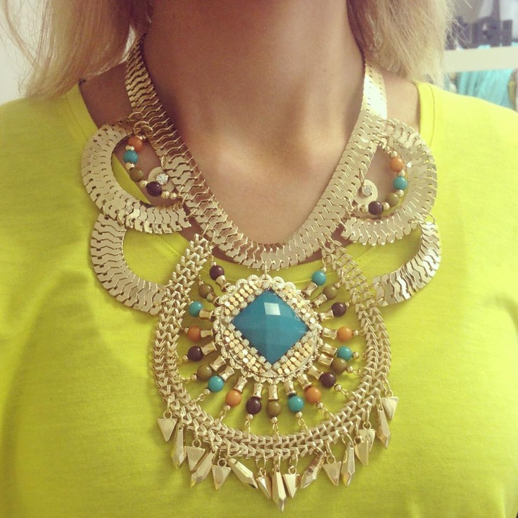 This beautiful necklace is coming soon to Trendabelle.com!