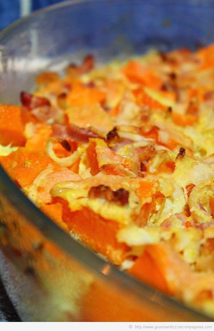 Gratin de butternut au curry 1