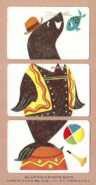 oh my gosh! ... i had these. Seal - 1956 Mixies® by Ed-U-Cards