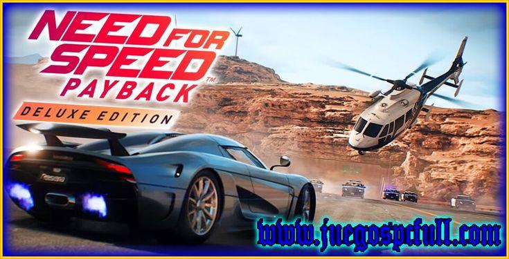 Descargar Need For Speed Payback Deluxe Edition | Full | Español | Mega | Torrent | Iso | Elamigos | JuegosPcFull | Descargar Juegos para pc | Need for Speed Payback es un videojuego de carreras de mundo abierto desarrollado por Ghost Games y distribuido por Electronic Arts. Descarga la Deluxe Edition que contiene...