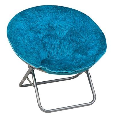 Exceptional Shag Saucer Chair