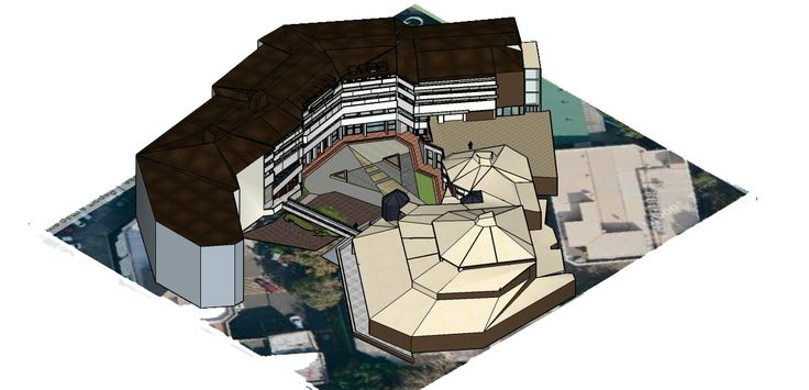 Isometric of the sketch up model