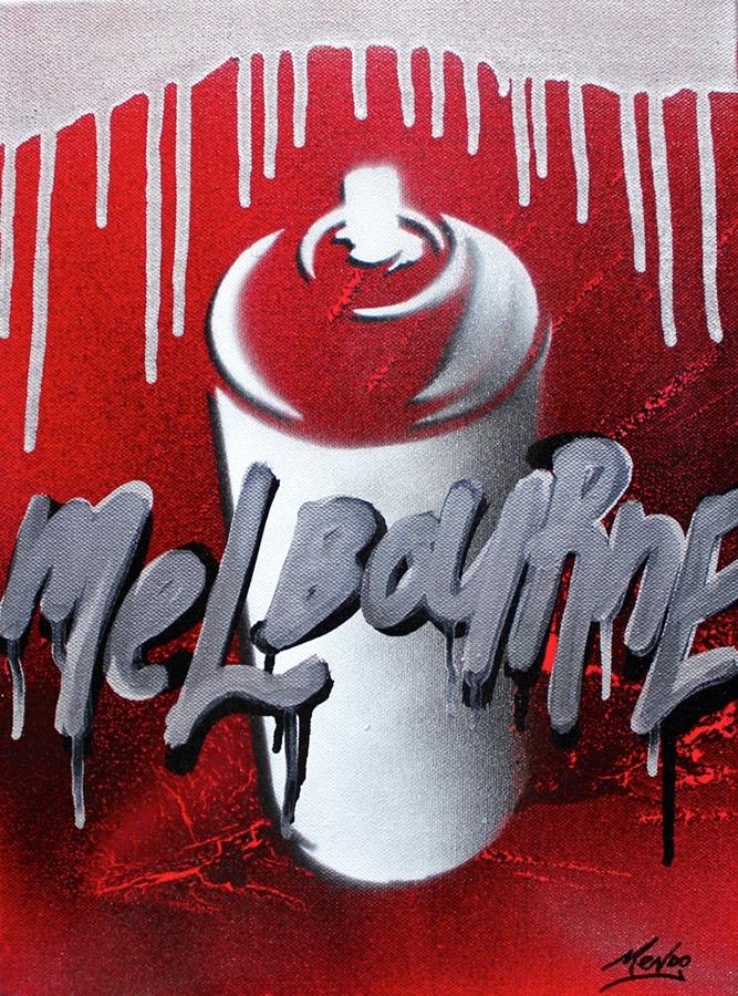 Melbourne oozes in style   #streetart #urbanart #melbourne  www.mendo.com.au
