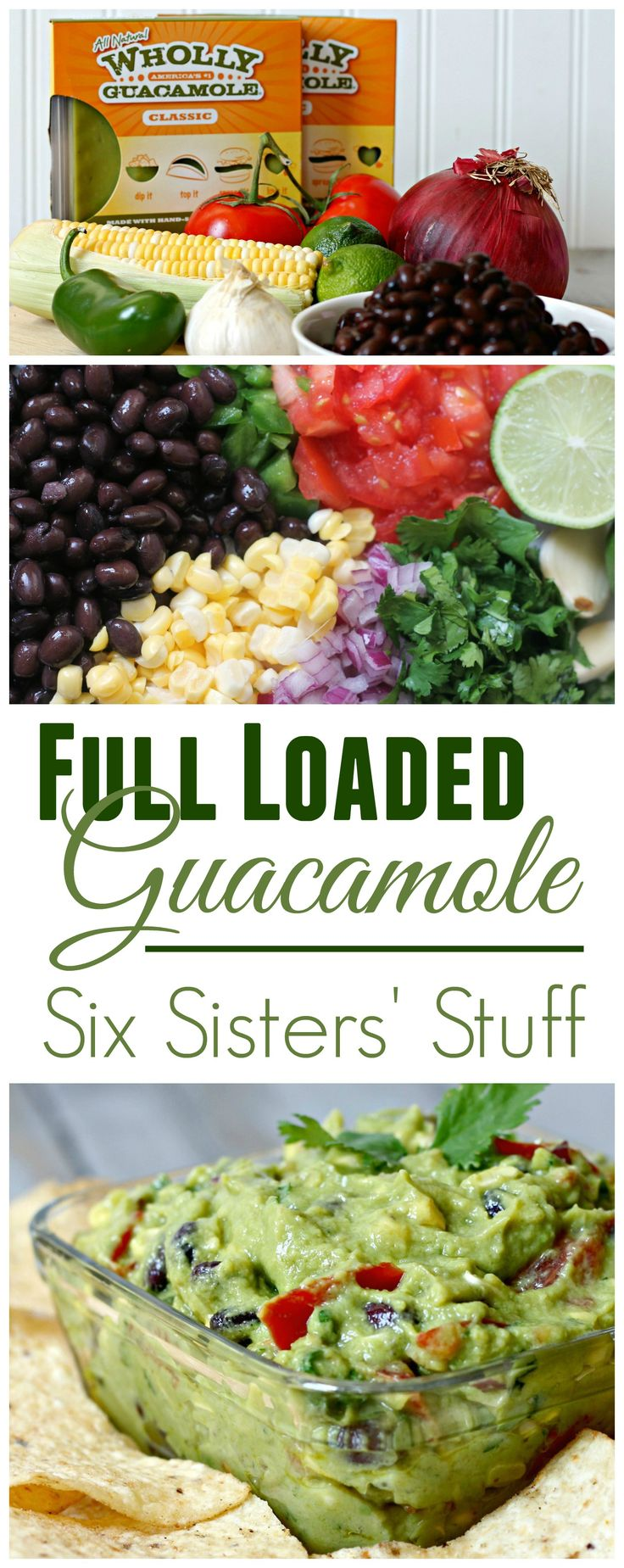 Fully Loaded Guacamole from Sixsistersstuff.com