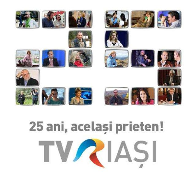 TVR Iasi – 25 de ani de televiziune regionala