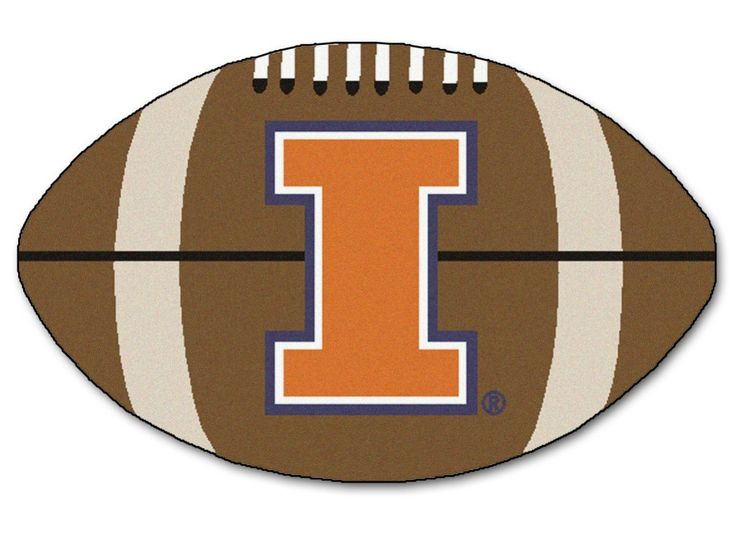 "Illinois Fighting Illini 22""x35"" Football Mat"