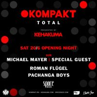 Michael Mayer @ Space Ibiza / Kompakt TOTAL ... Master !