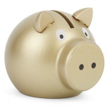 Vilac Golden piggy bank