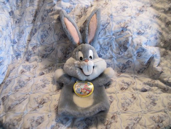 1991 Bugs Bunny Puppet  By Warner Brothers by Daysgonebytreasures