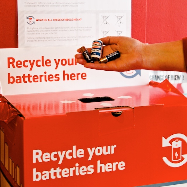 We accept old batteries and computers for recycling #environment #savetheplanet #greenwich #ethical #independentretail #battery