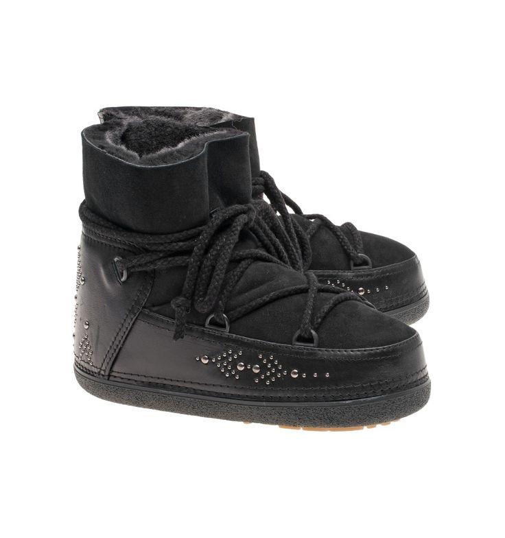 IKKII Boots Punk Studs Black - BIG BOSS Megève