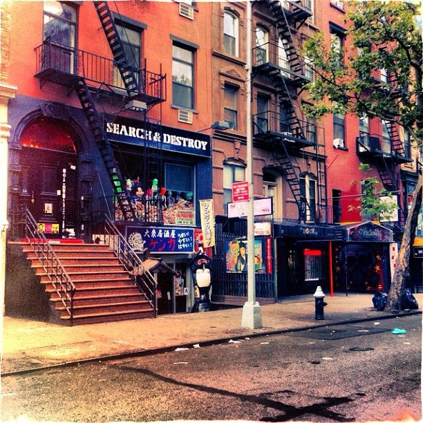 St. Mark's Place (East 8th Street), one of the neighborhood's most famous streets, is lined with bars, restaurants and shops and a popular strip for tourists to visit.