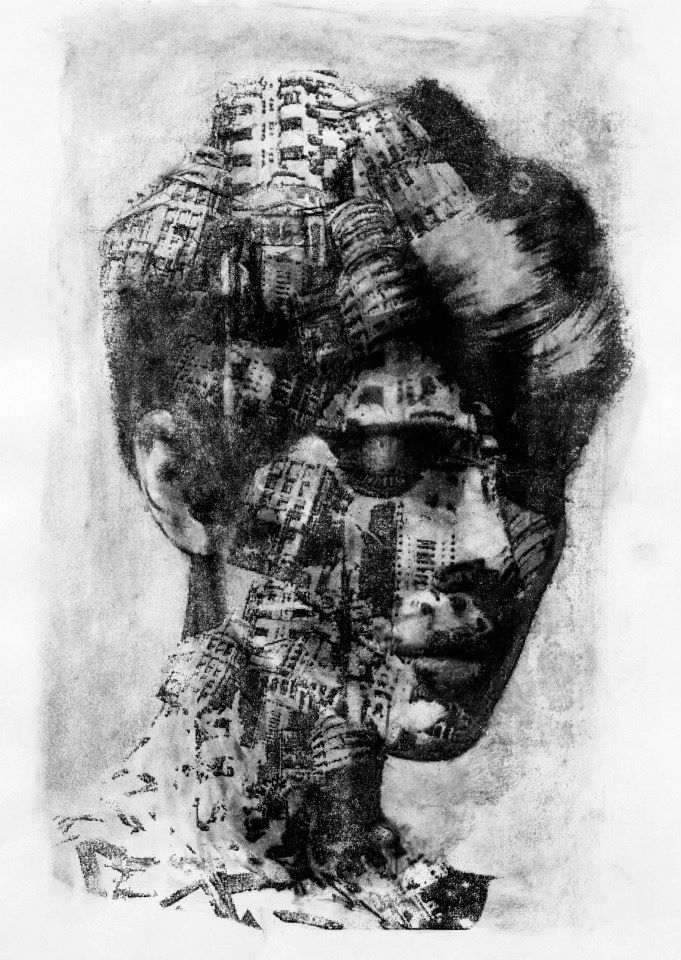 Monoprints & Collages 2013 - MARK FRANCIS WILLIAMS