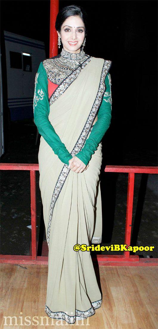Sridevi - not her colour...