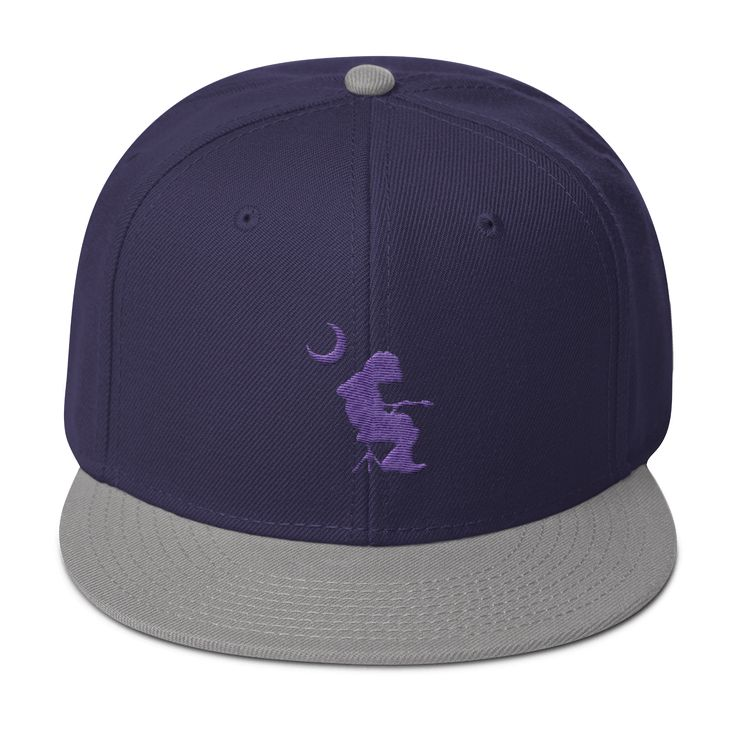 WSP Embroidered Mikey Houser Palmetto Moon Wool Cap