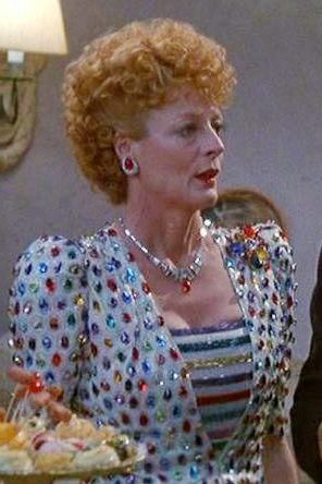 Dame Maggie Smith in EVIL UNDER THE SUN  as Daphne Castle 1982