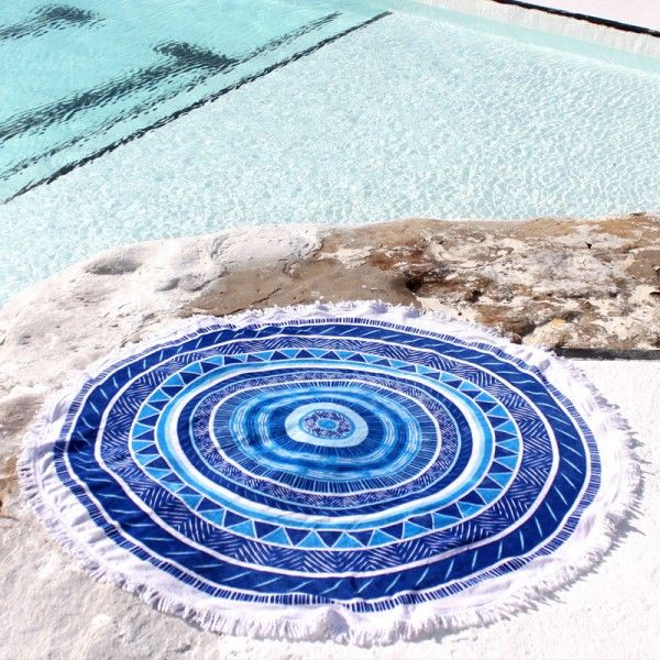 Beach Blanket Australia: 72 Best Round Beach Towels Images On Pinterest