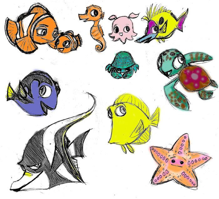 Pin By All Things Disney On Finding Nemo Pinterest