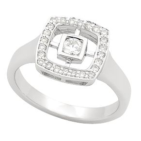 Spoil your partner with a beautiful diamond dress ring.