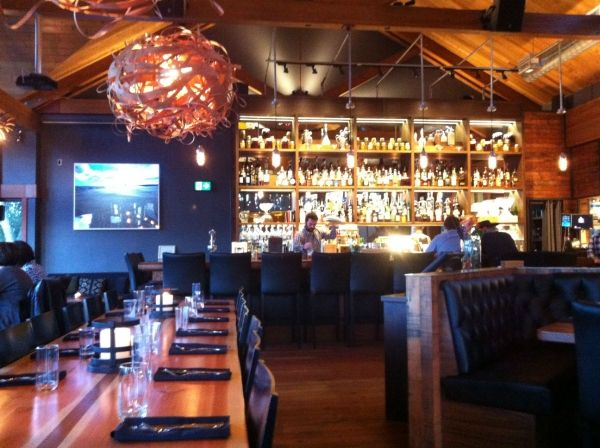 It may be raining in Tofino, but restaurants like Wolf in the Fog make cozying up indoors gratifying.