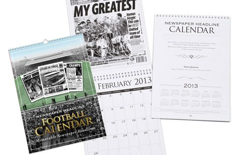 I Just Love It Personalised Manchester United Football Calendar Personalised Manchester United Football Calendar - Gift Details. This Football Calendar is a unique Calendar gift idea for a Man United fan. On each month of this Calendar we feature a newspaper repor http://www.MightGet.com/january-2017-11/i-just-love-it-personalised-manchester-united-football-calendar.asp