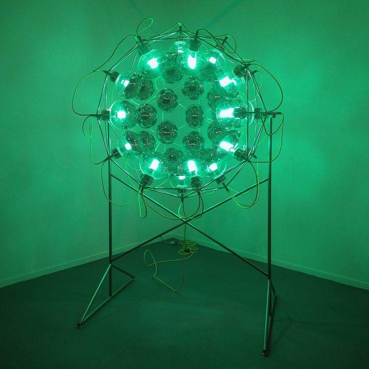 """Instagram: """"@studioolafureliasson, Global cooling lamp, 2006 @gal_elviragonzalez @feriaarco"""""""