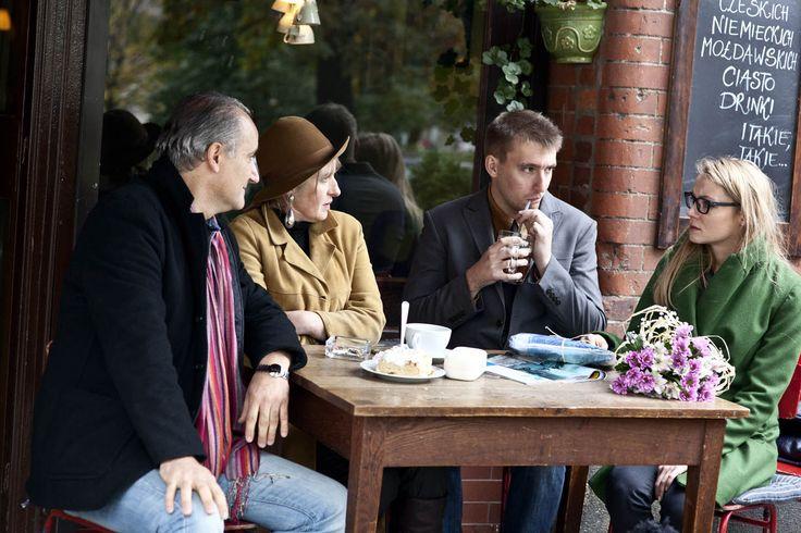 from the left: Maciej Tomaszewski, Ewelina Paszke, Michał Szwed and Anna Ilczuk