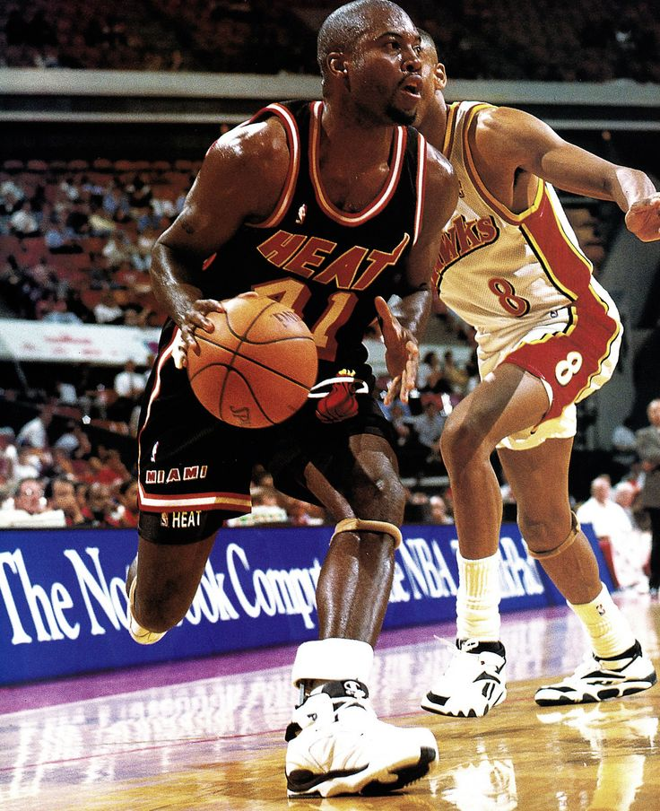 Glen Rice Sets Up To Fire.