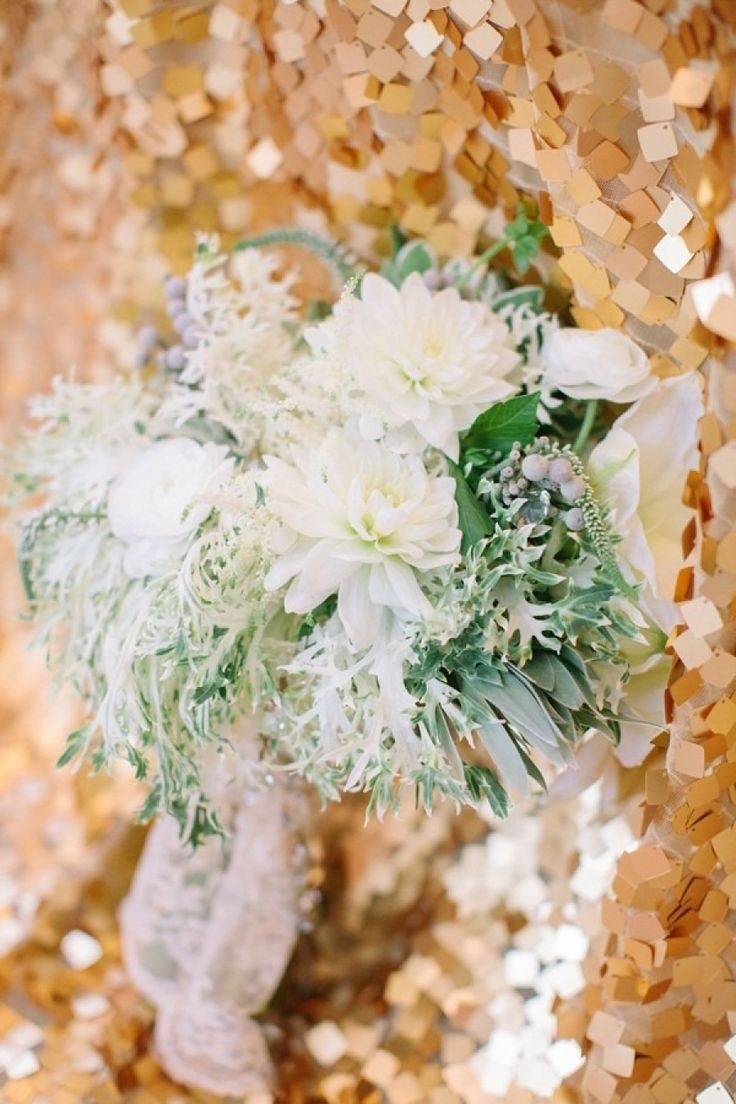To see more gorgeous details about this wedding: http://www.modwedding.com/2014/11/26/fabulous-new-years-eve-styled-shoot-georgian-terrace-atlanta/ #wedding #weddings #wedding_centerpiece photo: Haley Sheffield Photography