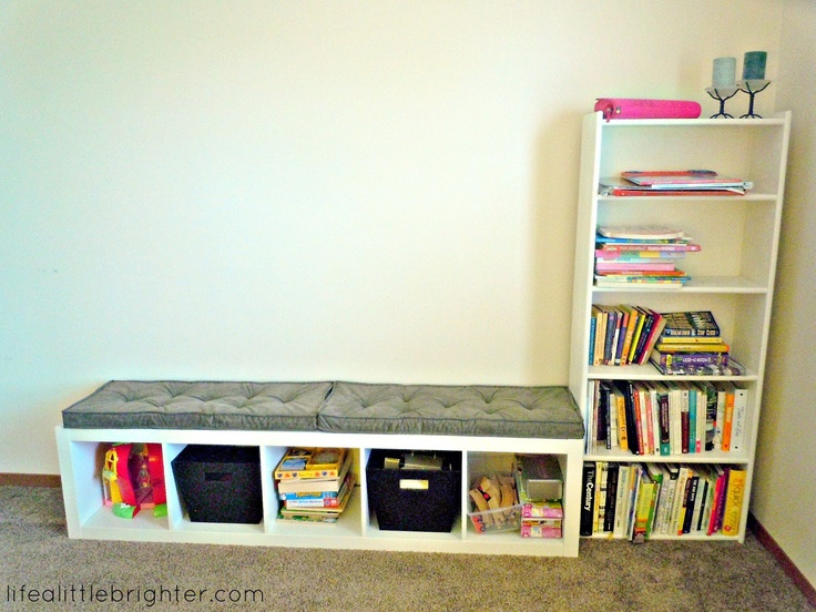 IKEA hack: Expedit Bookcase