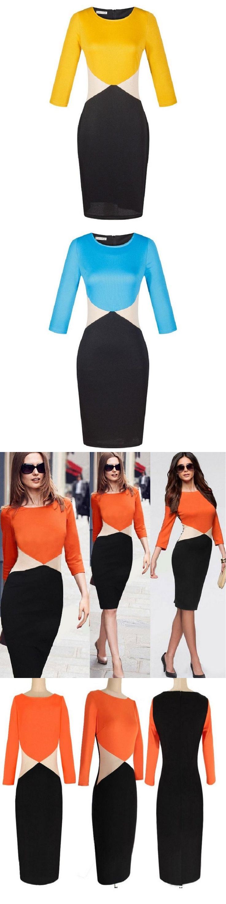 Brand New 2016 Summer Dress High Quality Casual Women Dress Palace Office Dress Plus Size Bodycon Dress For Ropa Mujer Vestidos